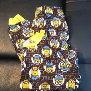 BOGO🌺Illumination Boys Minion Flannel Pyjamas